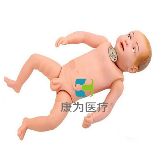 """""""康为医疗""""高级婴儿气管切开术后护理标准化模拟病人"""