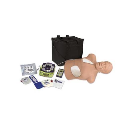 德国3B Scientific®CPR 躯干模型Brad 带有Zoll AED 训练装置包