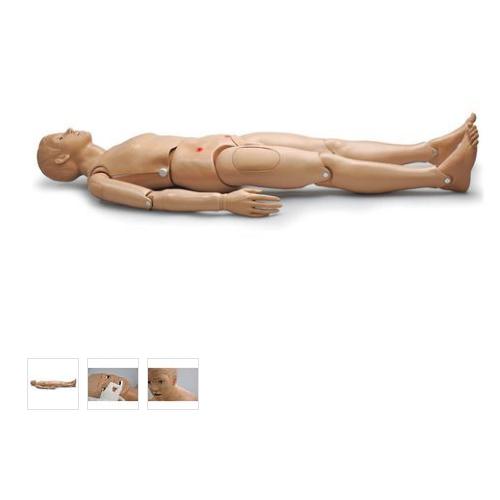 德国3B Scientific®基础病人护理模型,男性