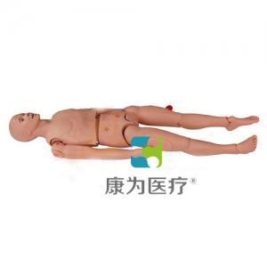 """甘肃""""康为医疗""""高级三腔两囊管操作训练标准化模拟病人,三腔两囊管止血训练模型"""