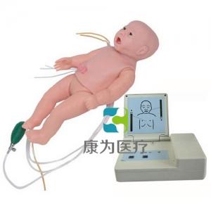 """""""康为医疗""""全功能新生儿高级标准化模拟病人(护理、CPR、听诊)"""