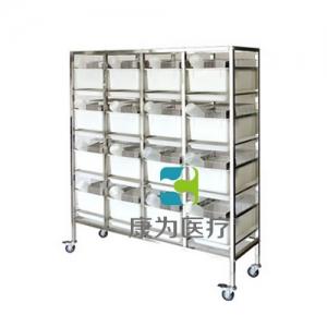 """""""康为医疗""""不锈钢干养式大鼠实验笼架KDF/(R-3/R-1)"""