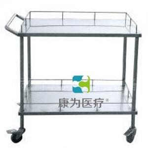 """甘肃""""康为医疗""""不锈钢器械台 (双层长方形)"""
